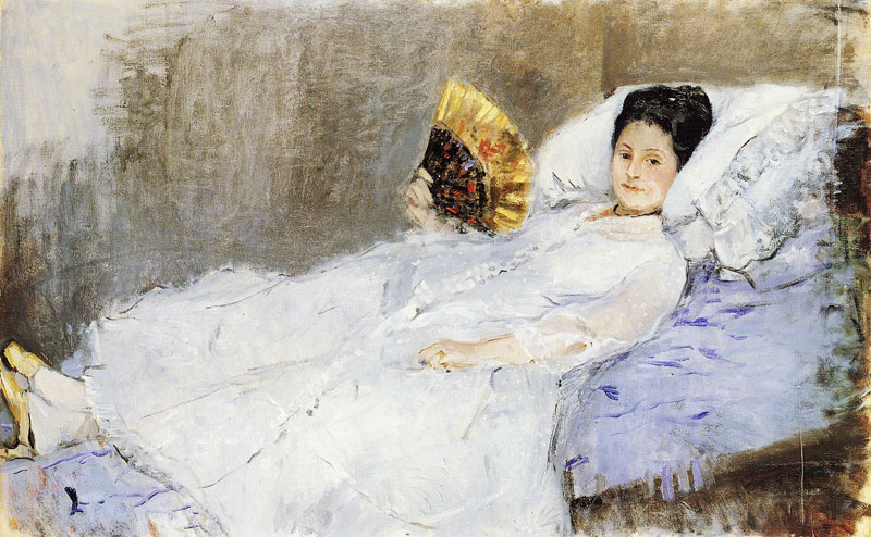 Portrait of Madame Marie Hubbard by Berthe Morisot