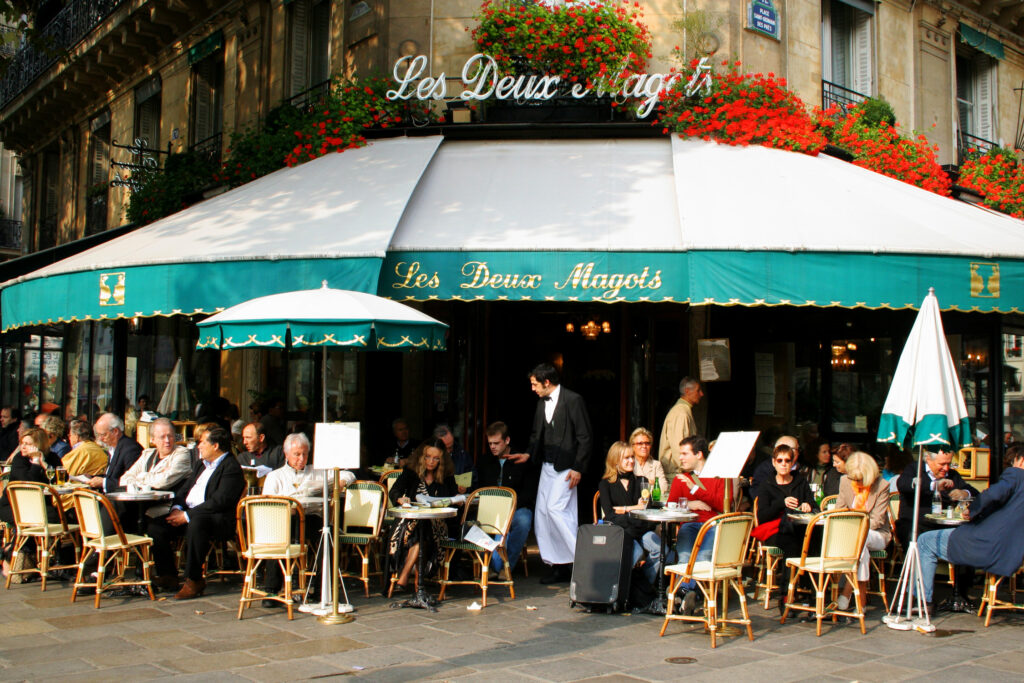 les deux magots saint germain paris