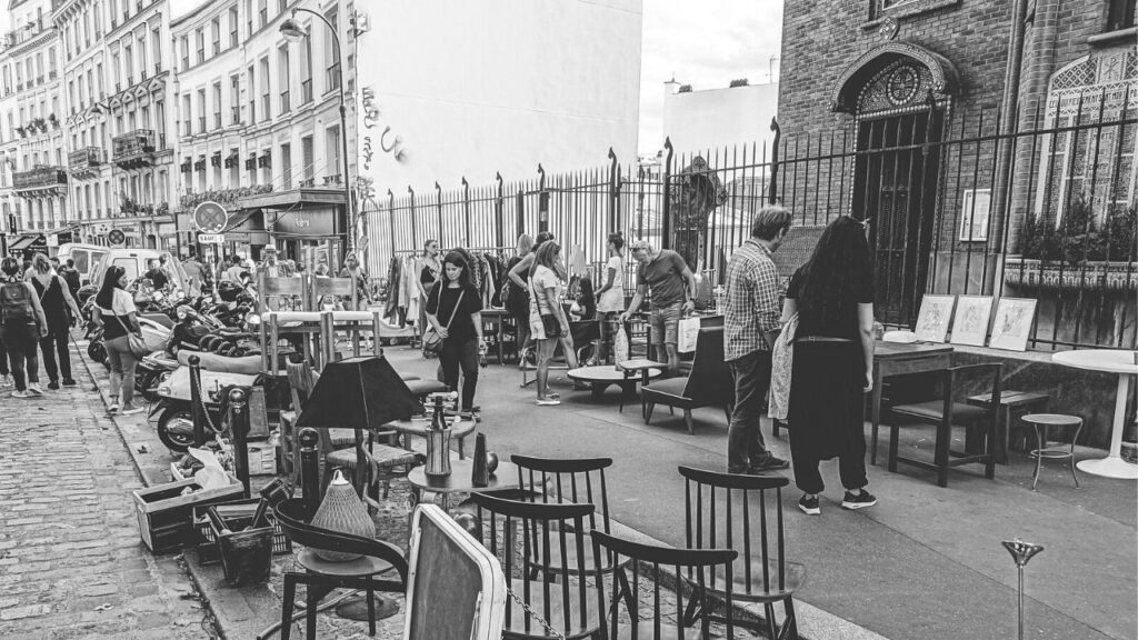 paris flea market brocante
